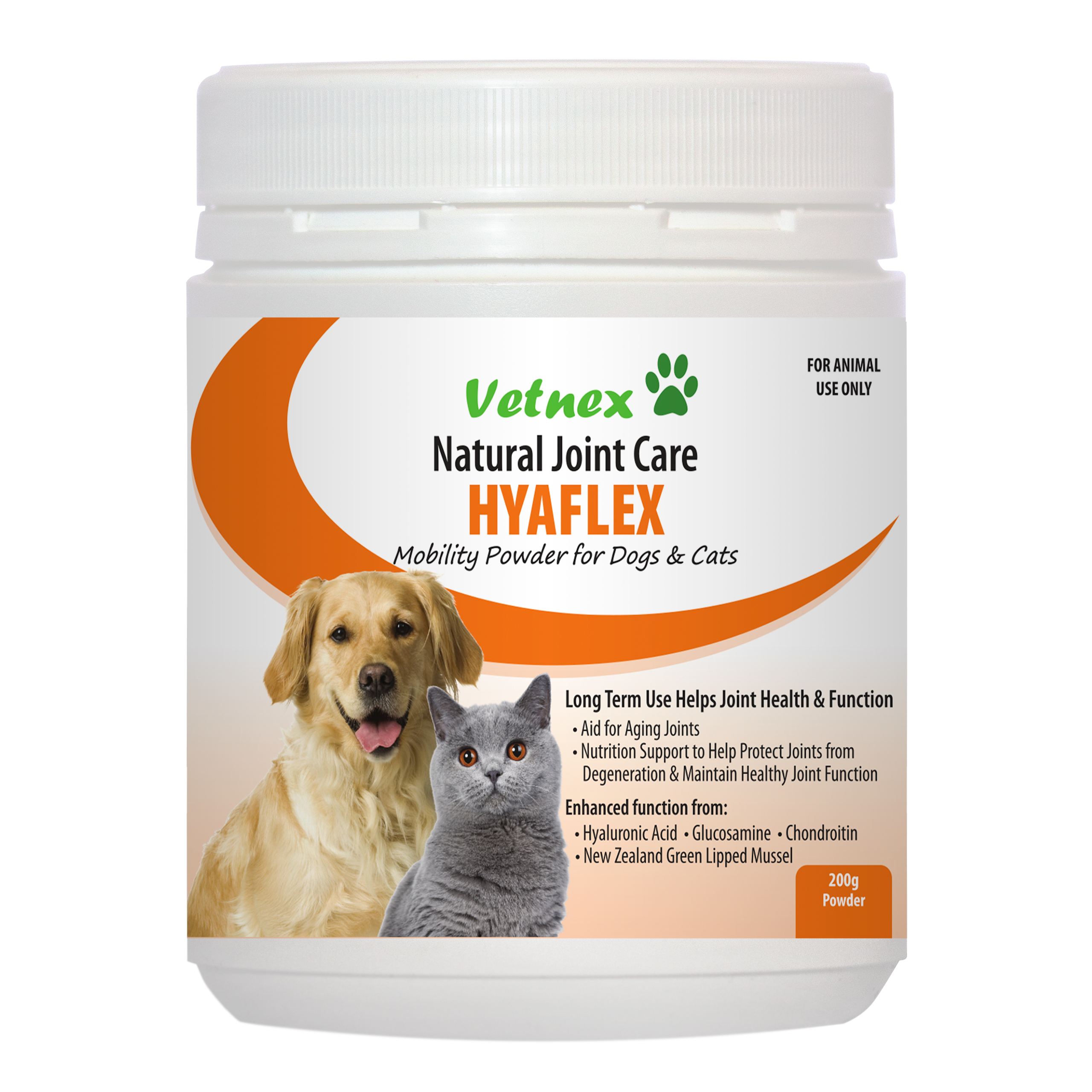 Hyaflex Mobility Powder, a New Addition to Vetnex Natural Bone & Joint Care Range